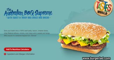 McDonald's Australian BBQ Supreme