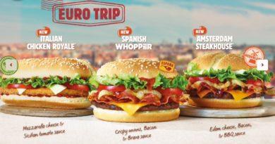 Burger King Euro Trip 2014