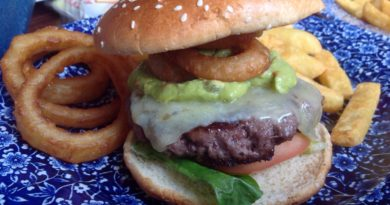 Wetherspoon Mexican Burger