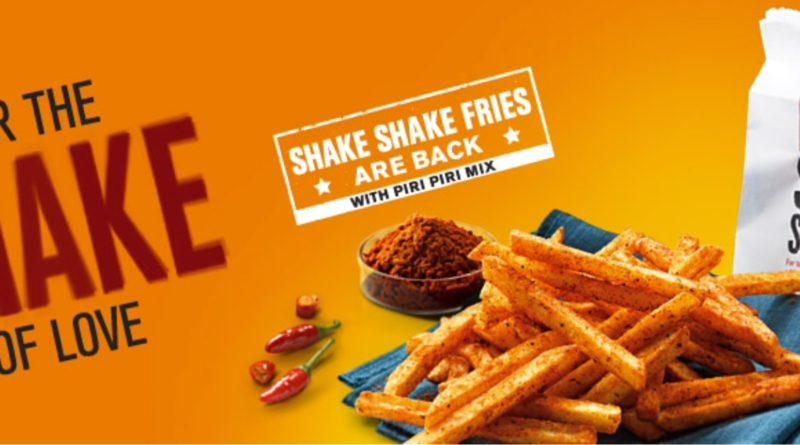 McDonald's Shake Shake Fries