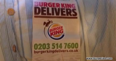 Burger King Delivery UK