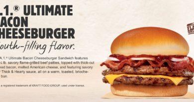 Burger King A1 Ultimate Bacon Cheeseburger