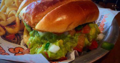 Hooter's Burger