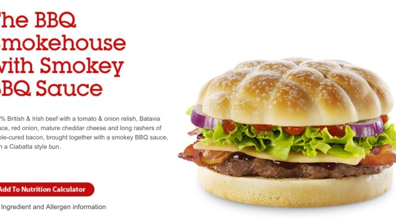 McDonald's BBQ Smokehouse