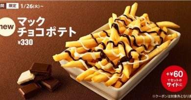 McDonald's Japan Chocolate Fries