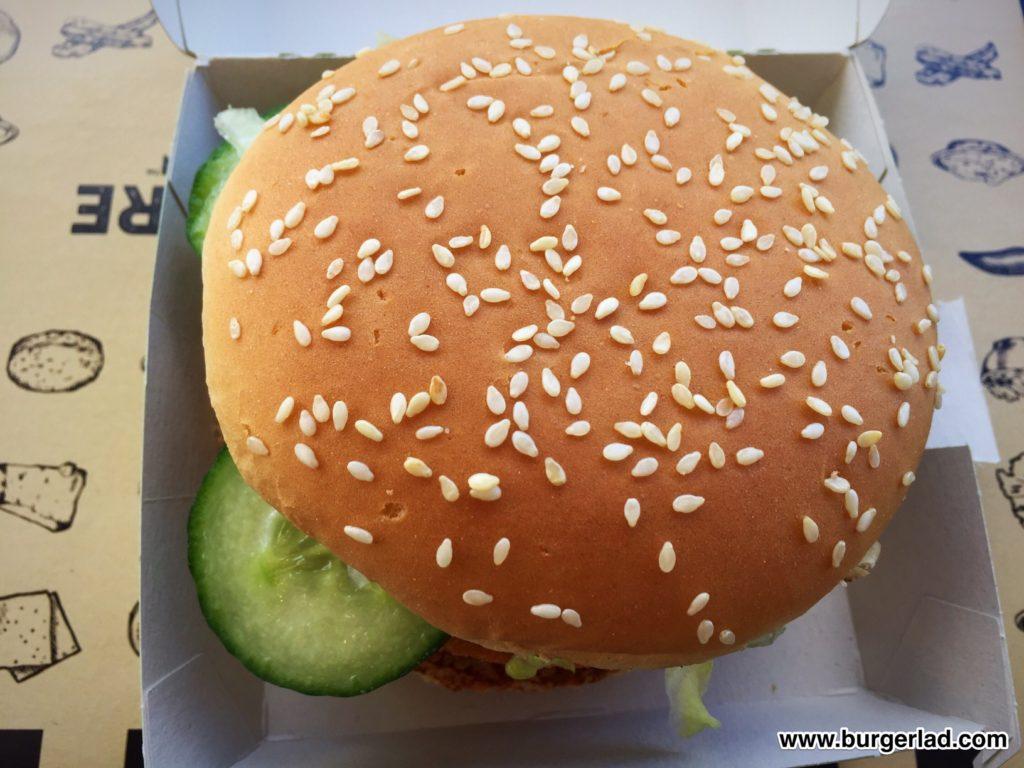 McDonald's Spicy Vegetable Deluxe