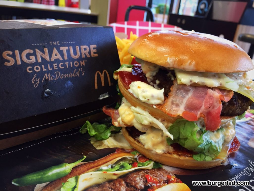 McDonald's Signature Mac