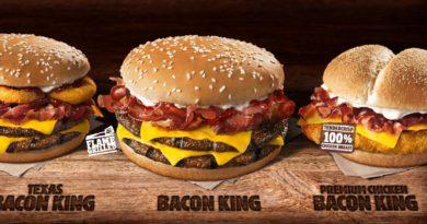 Burger King Bacon King UK