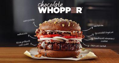 Burger King Chocolate Whopper