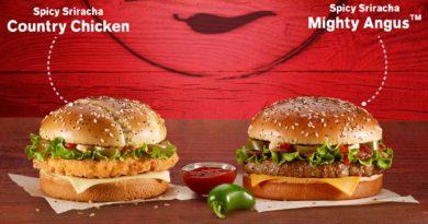 McDonald's Spicy Sriracha Mighty Angus