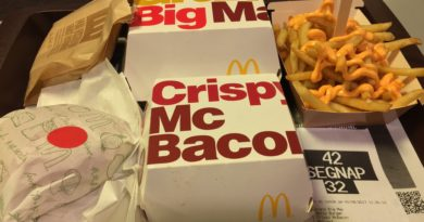 McDonald's Italy Menu Prices