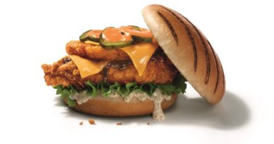 KFC Dirty Louisiana Burger