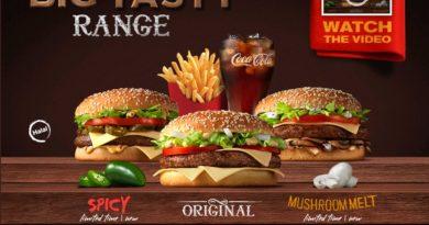 McDonald's Arabia Big Tasty Range
