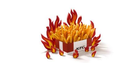 KFC Zinger Fries