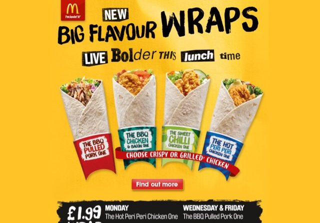 McDonald's Wrap of the Day