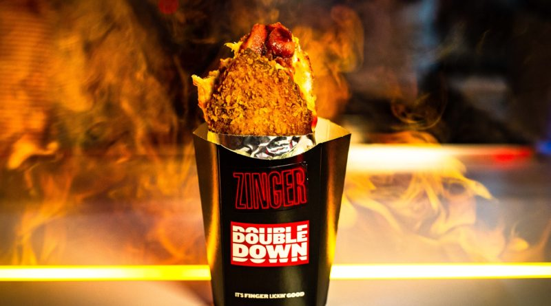 KFC Zinger Double Down