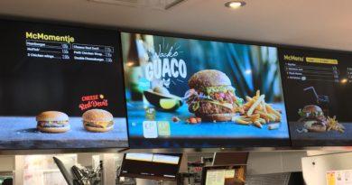 McDonald's Belgium Menu Prices