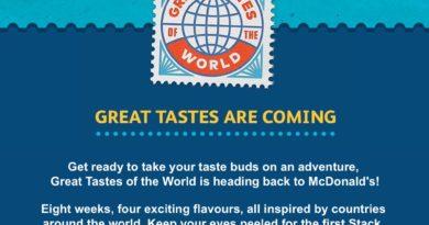 McDonald's Great Tastes of the World 2018
