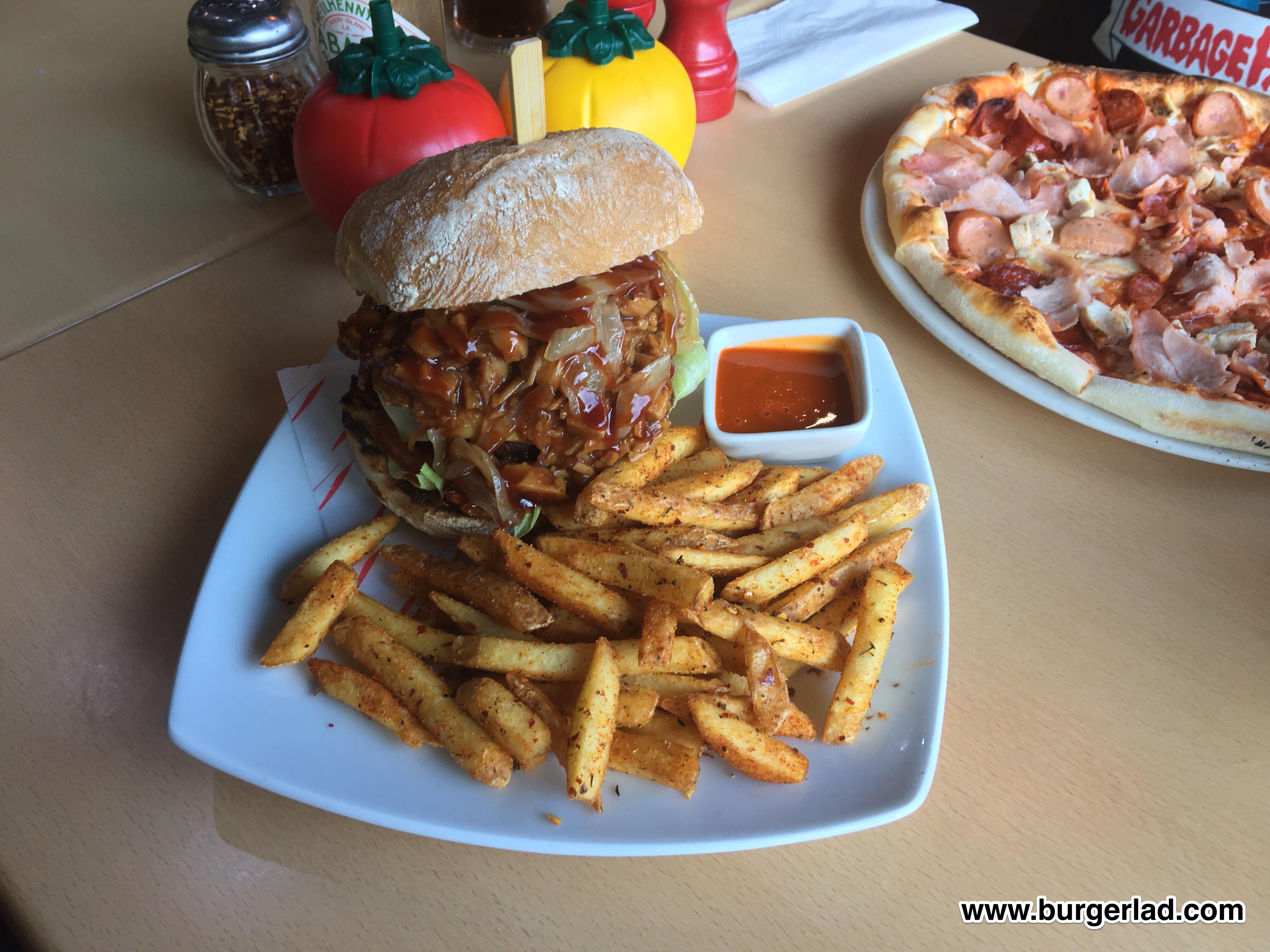 Atomic Burger Vegan Burger
