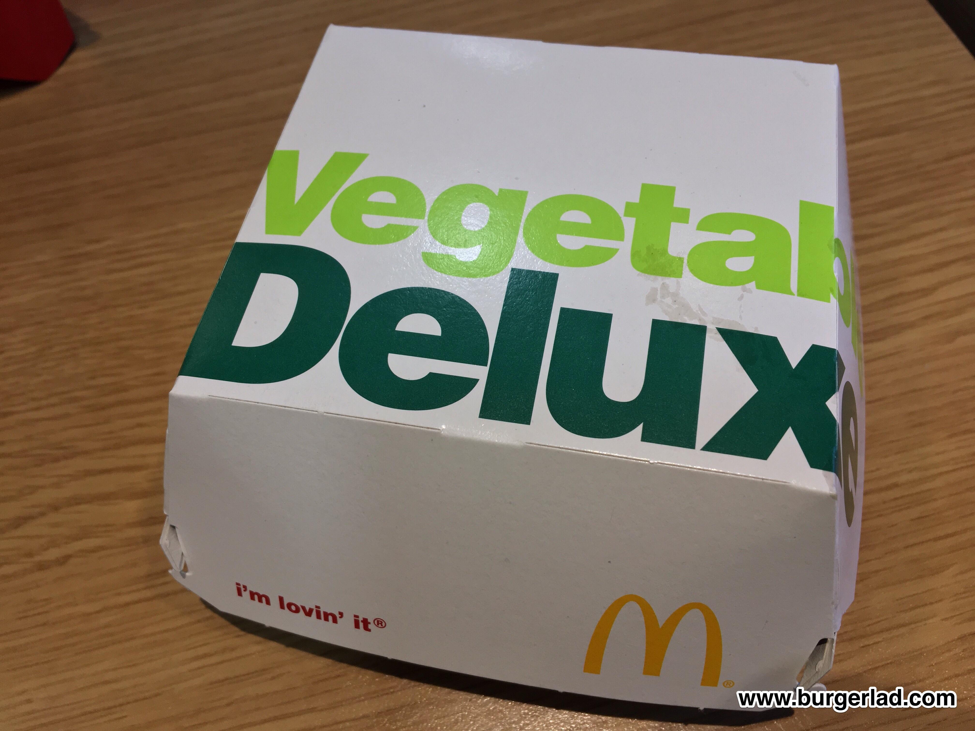 McDonald's Vegetable Deluxe