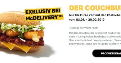 McDonald's Couchburger