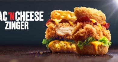 KFC Mac 'N Cheese Zinger