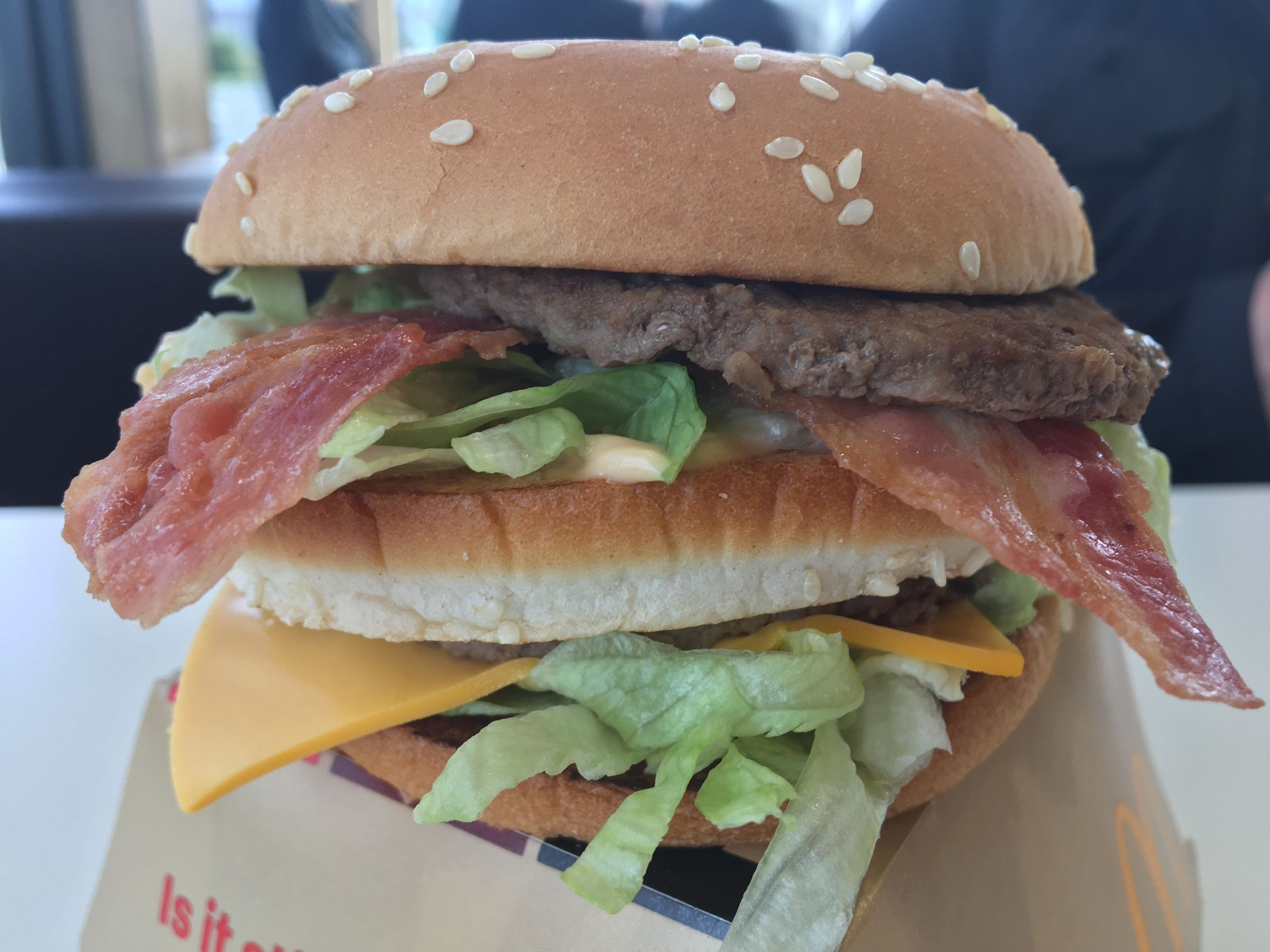 McDonald's Big Mac Bacon
