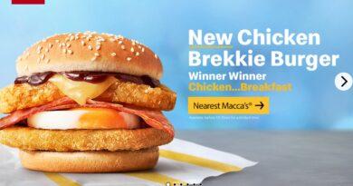 Chicken Brekkie Burger