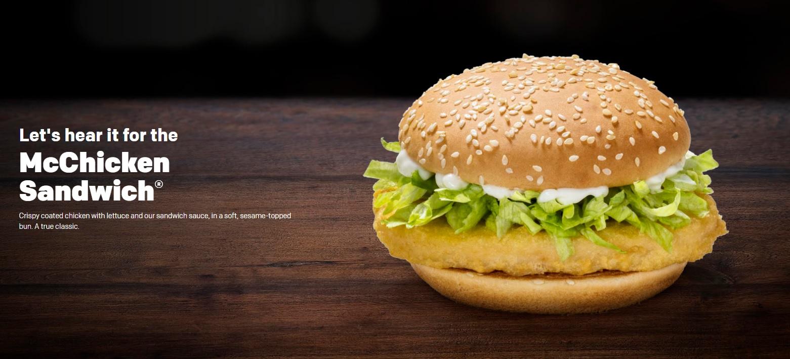 McChicken Sandwich