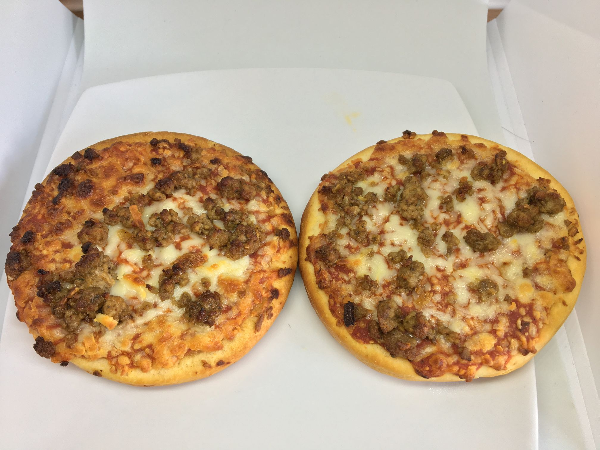 Bolognese Pizza Burgers