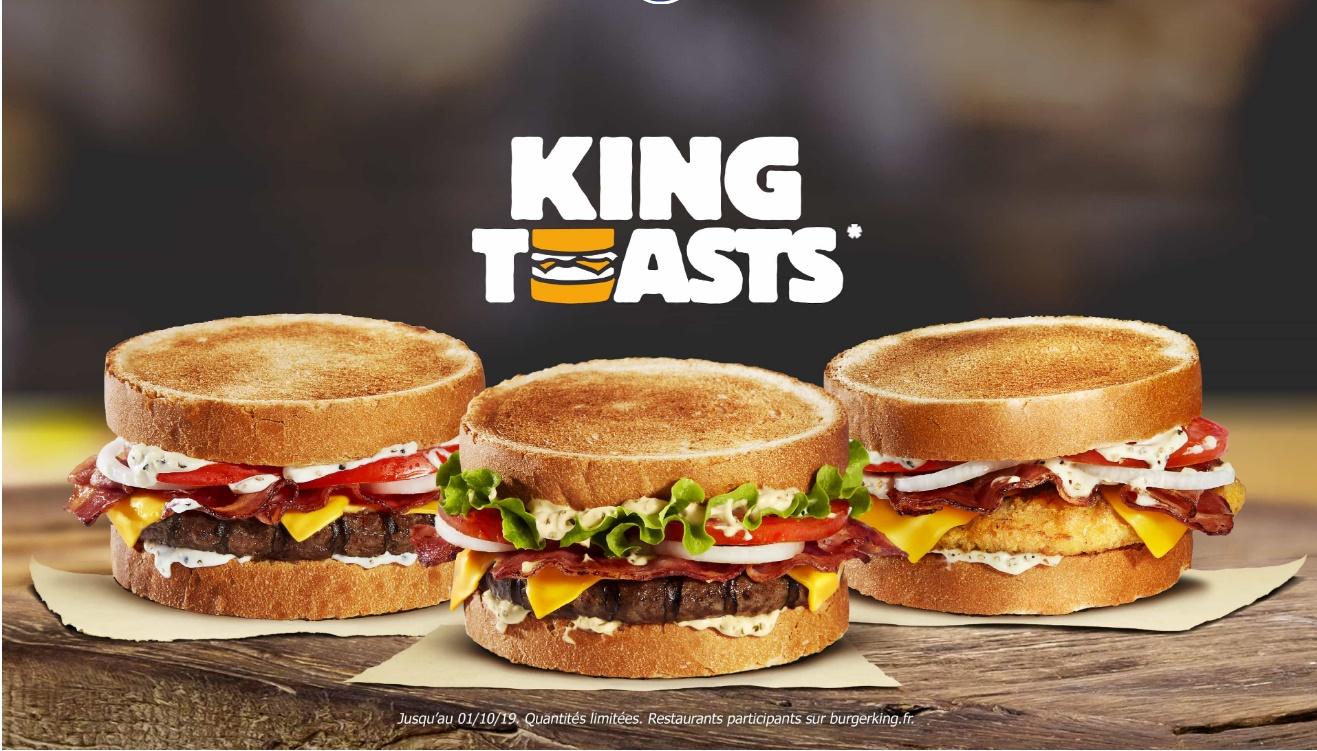 BK France King Toasts