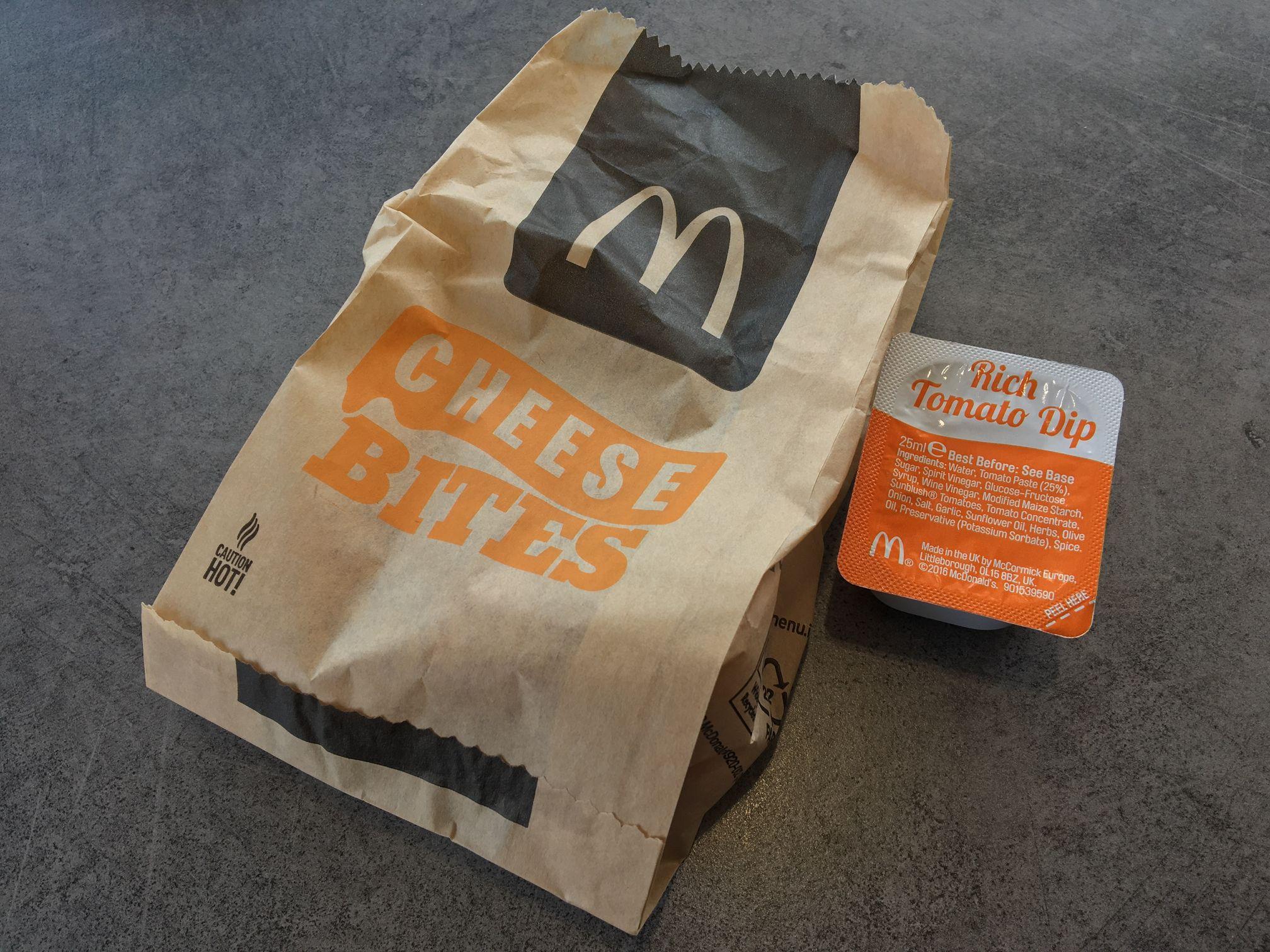 McDonald's Cheese Bites