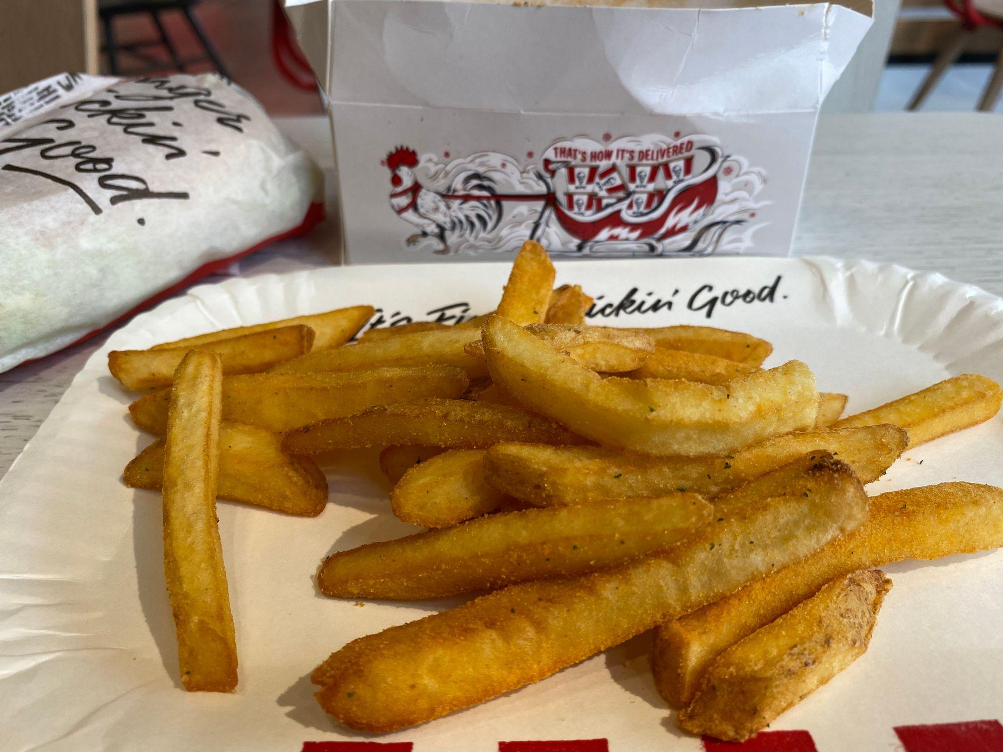 KFC Mini Fillet Burger