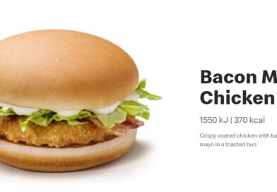 McDonald's Bacon Mayo Chicken
