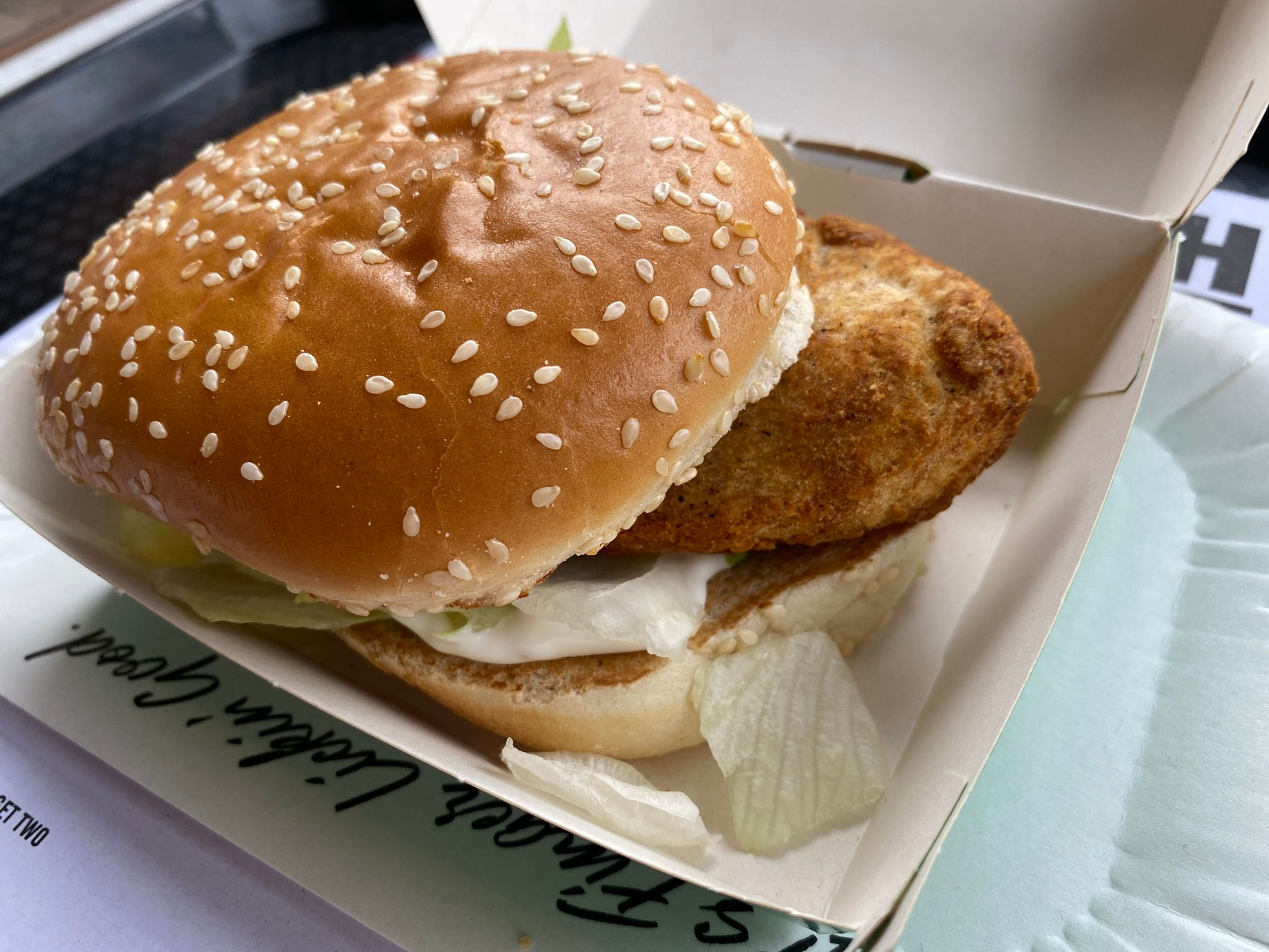 KFC Quorn Burger