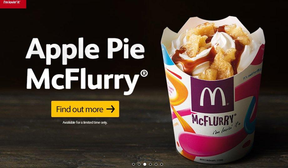 Apple Pie McFlurry