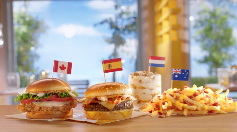 McDonald's Worldwide Favourites UK