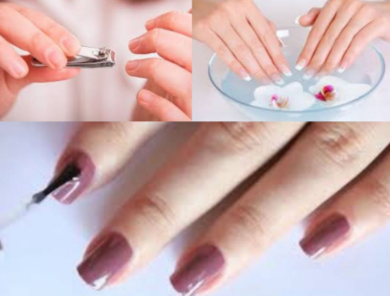 Do Perfect Hand Manicures easily at Home