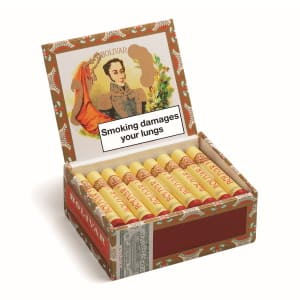 Bolivar No 3 Tubed Cigars Box of 25