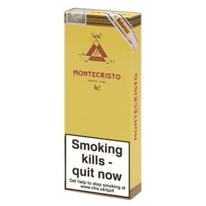 Montecristo No.2 Cigar Pack of 3
