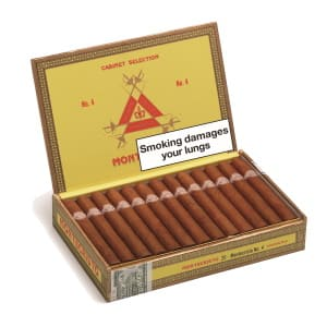 Montecristo No.4 Cigar Box of 25