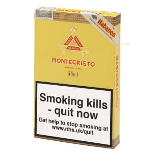 Montecristo No.4 Cigar Pack of 5