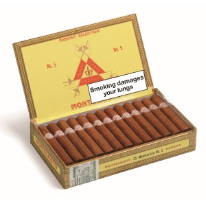 Montecristo No.5 Cigar Box of 25