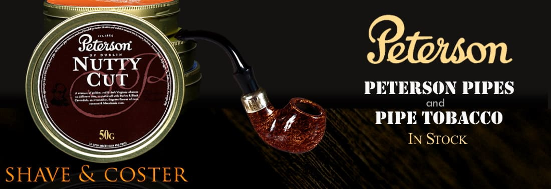 Peterson Pipes and Pipe Tobacco