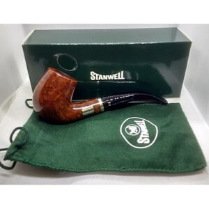 Stanwell City Pipe 246 Light - Shave & Coster with box & pouch