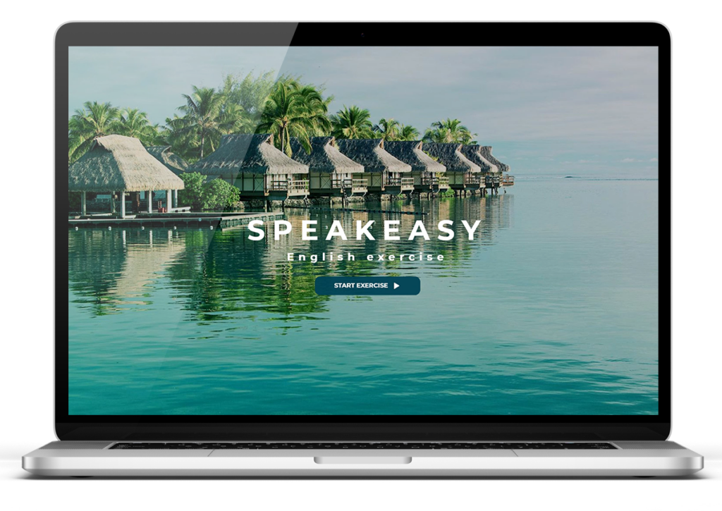 SpeakEasy laptop