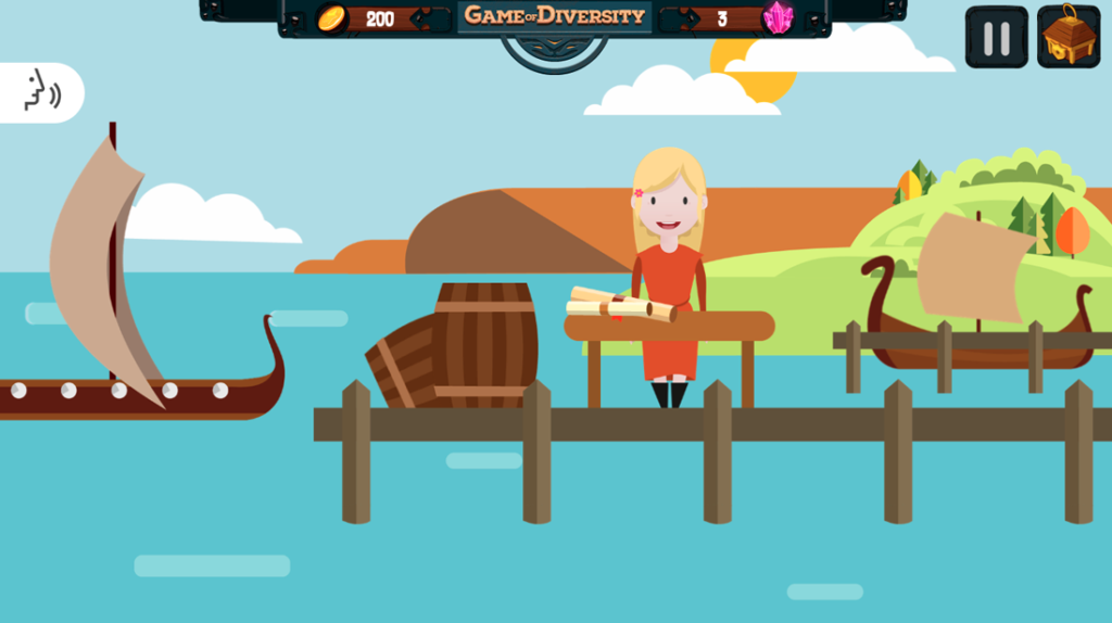 Game of Diversity