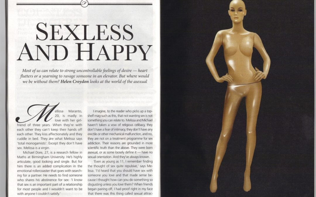 Forum Magazine: Sexless and happy: Asexuals fight back