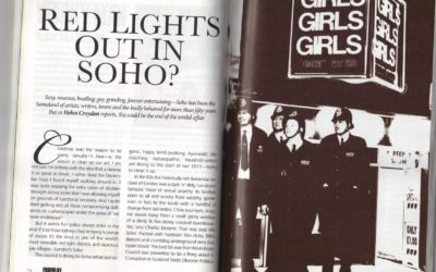 Forum Magazine: Red Lights out in Soho?