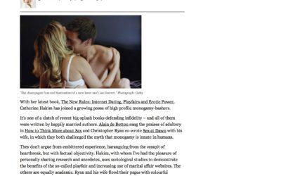 Guardian: Like it or not – Monogamy is a fairytale ideal